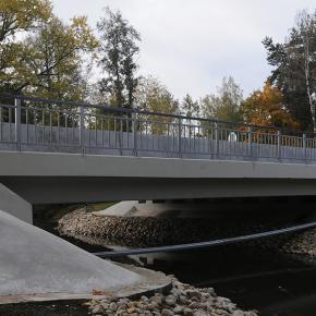 Мост по Заповедной ул. через р. Каменка