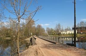 Мост по Капсюльному шоссе через ручей Безымянный