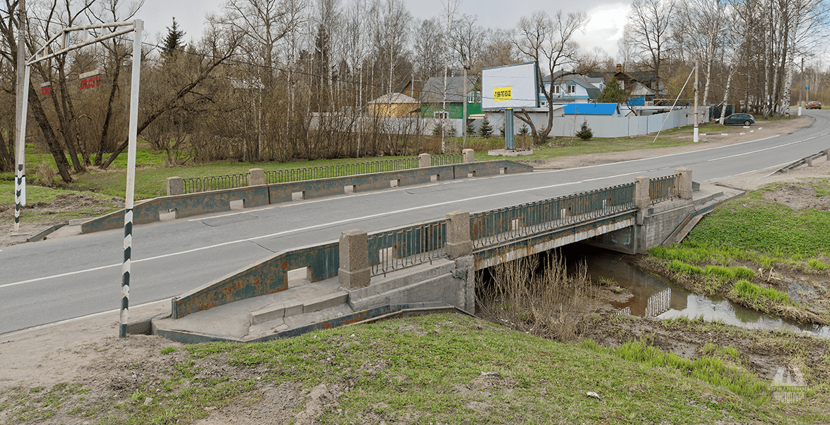 Мост по ул. Парковой