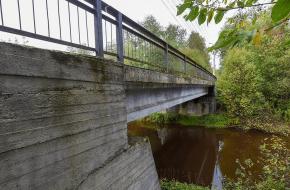 Мост по ул. Главной через Сестру