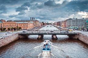 Семеновский мост через Фонтанку
