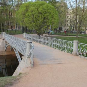 Мост № 4 в Таврическом саду