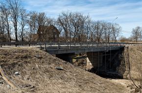 Мост на Волхонском шоссе №7
