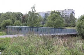 Мост через реку Ивановку между улицами Добровольцев и Здоровцева