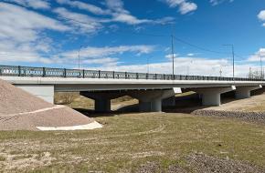 Мост через реку Пулковку №1 на Петербургском шоссе