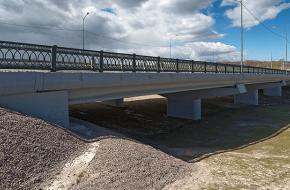 Мост через реку Пулковку № 2 на Петербургском шоссе