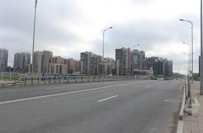 Мост через Матисов канал в створе ул. Адмирала Трибуца