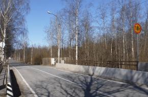 Мост на подъезде к станции Дибуны (км 0 + 645м автодороги Песочный — Дибуны)