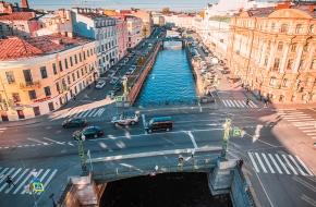 Вознесенский мост через Канал Грибоедова