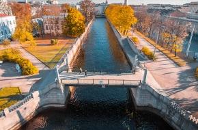 Красногвардейский мост через Канал Грибоедова