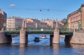 Мало-Калинкин мост через Канал Грибоедова