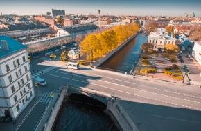 Ново-Никольский мост через Канал Грибоедова