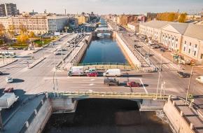 Балтийский мост через Обводный канал
