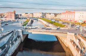 Боровой мост через Обводный канал