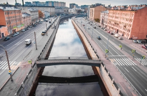 Масляный мост через Обводный канал