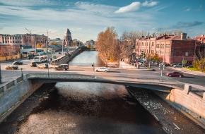 Мост Степана Разина через Обводный канал