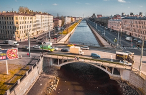 Ново-Калинкин мост через Обводный канал