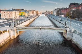 Таракановский мост через Обводный канал