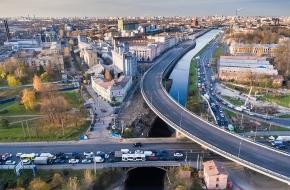 Шлиссельбургский мост через Обводный канал