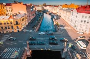 Подьяческий мост через Канал Грибоедова