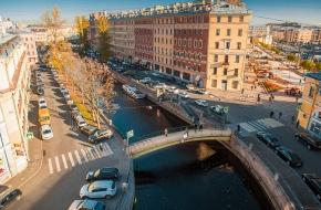 Сенной мост через Канал Грибоедова