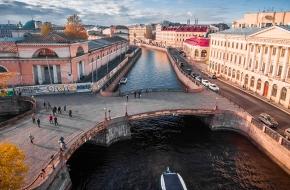 Театральный мост через Канал Грибоедова
