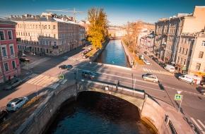 Харламов мост через Канал Грибоедова