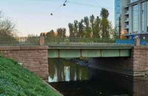 Барочный мост  через Карповку