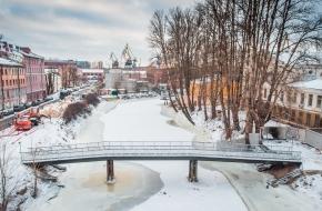 Бердов мост через Пряжку