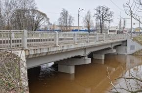Большой Ильинский мост через Охту