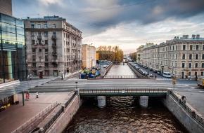 Мост Декабристов через Крюков канал