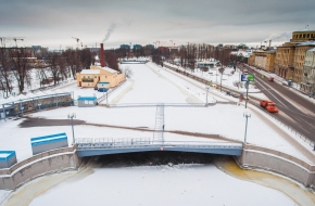 Ждановский мост через Ждановку