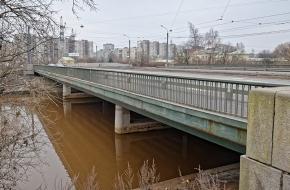 Ириновский мост через Охту