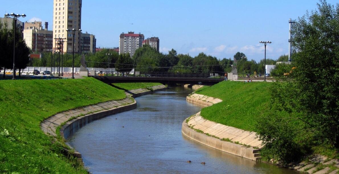 Набережная реки Оккервиль