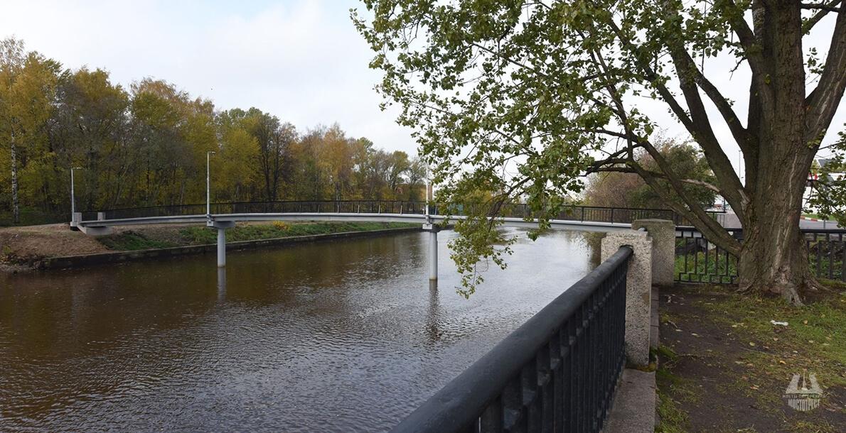 Набережная реки Охты